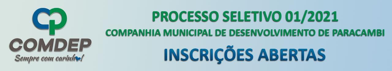 Concurso Comdep Paracambi RJ oferta 200 vagas de nível fundamental